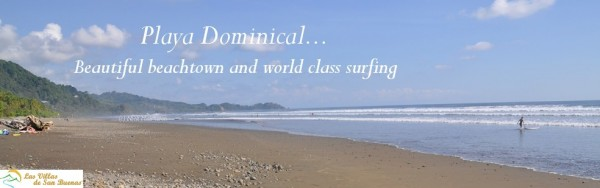 Dominical Costa Rica Playa Header