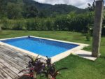 villa tinamou backyard pool