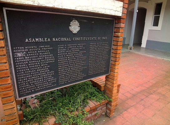 Costa Rica Asamblea Nacional