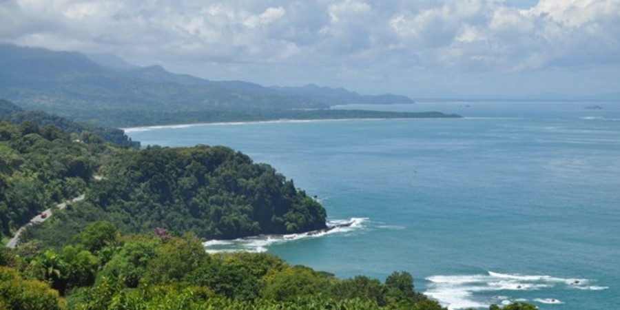 osa costa rica coastline