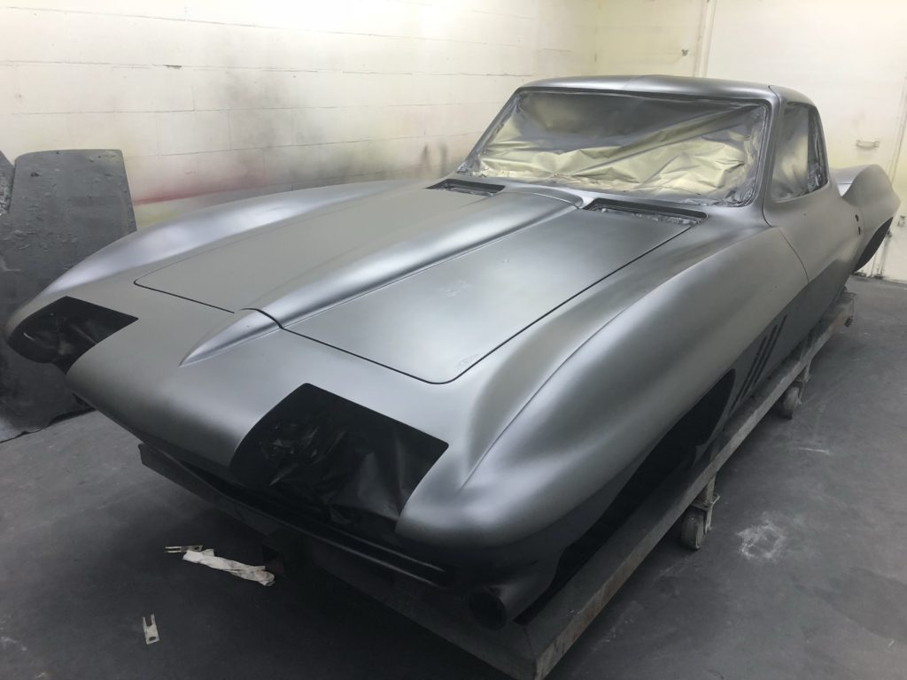 1966 Corvette Coupe Birdcage Repair and Chassis Restoration – J & M