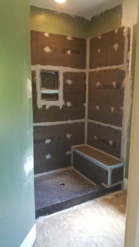 Edgewood, Kentucky bathroom remodel