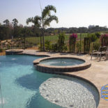 Big Pool with Surrounding Features