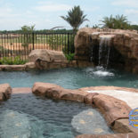 Pretty Pool with Many Elevations