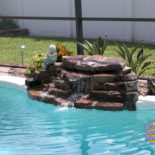 Small Rock Waterfall Feature