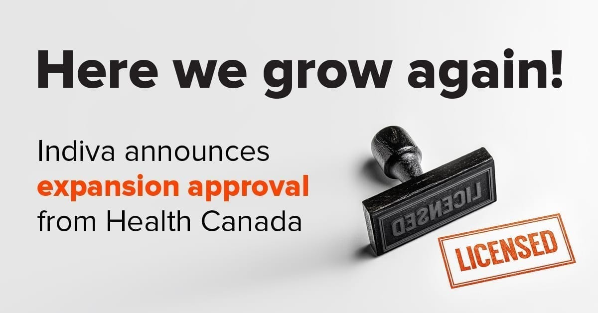 press-release-–-indiva-announces-expansion-approval-from-health-canada