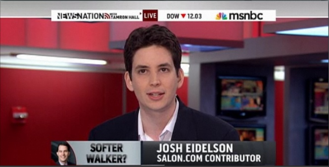 Josh Eidelson covers unions for various publications including Salon.