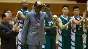 Dennis Rodman checks into rehab less than a week after returning home from North Korea.