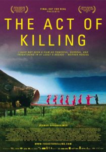 "The Act of Killing according to Michael Snyder is ""amazing."""
