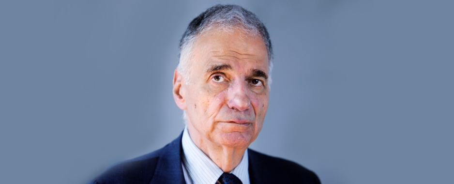ralph nader is back