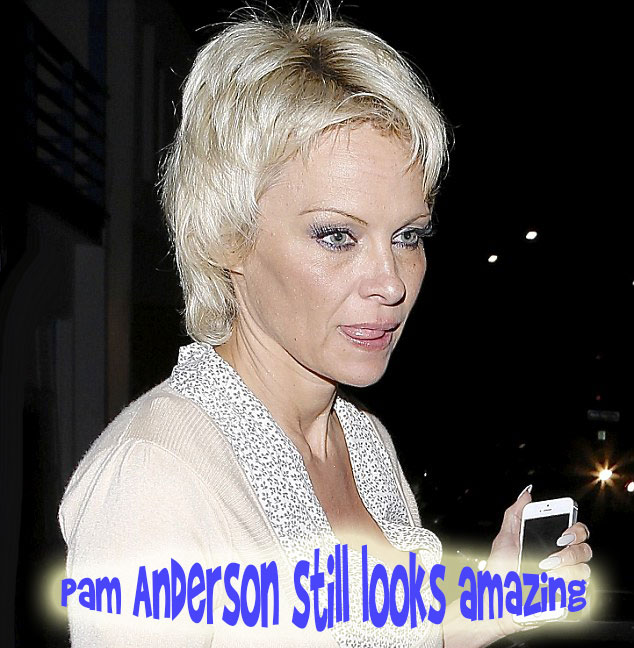 Pam Anderson amazing