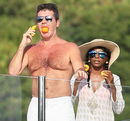 Simon Cowell has an amazing pair of tits.