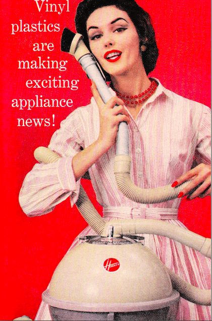 According to Advertising, the 1950s woman wanted to fuck her appliances.