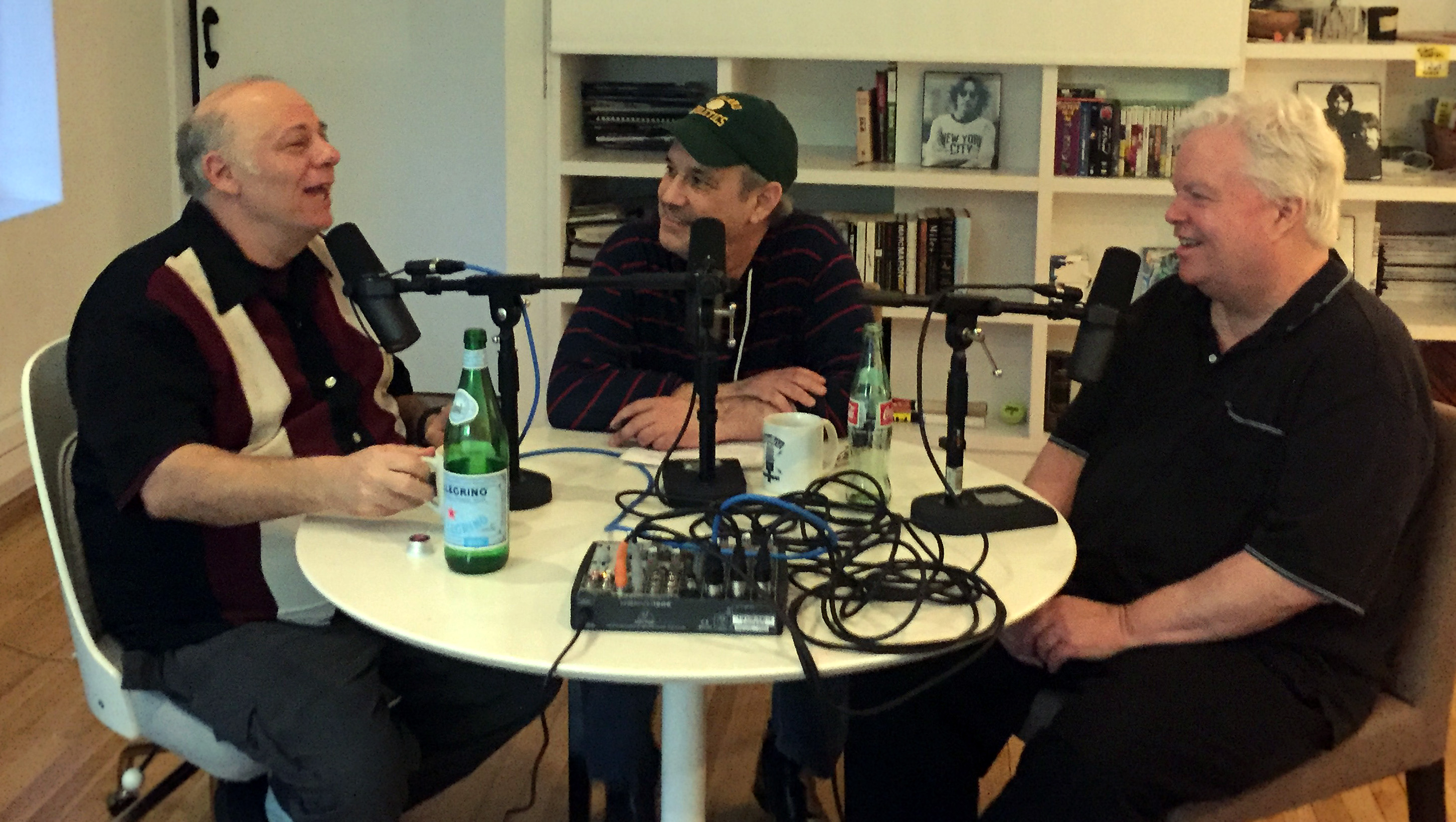Eddie Pepitone joins Frank Conniff and David in studio.