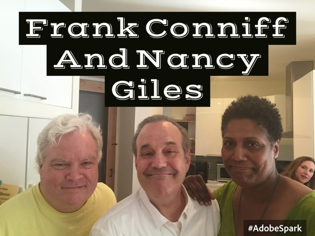 Frank Conniff, David Feldman, Nancy Giles