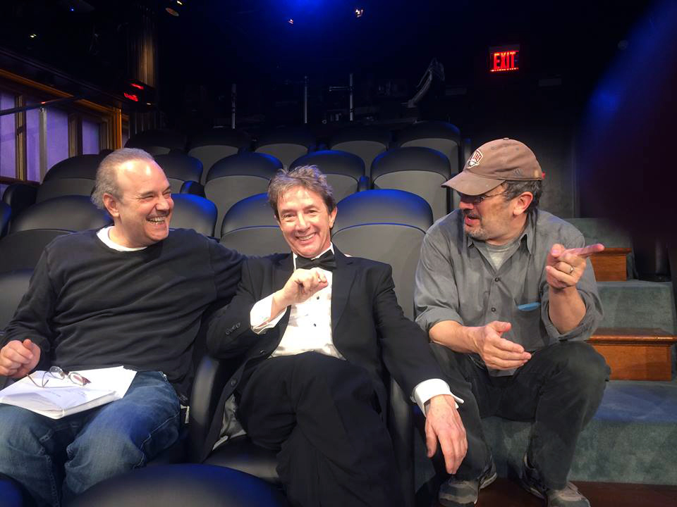 Martin Short, Robert Smigel, David Feldman