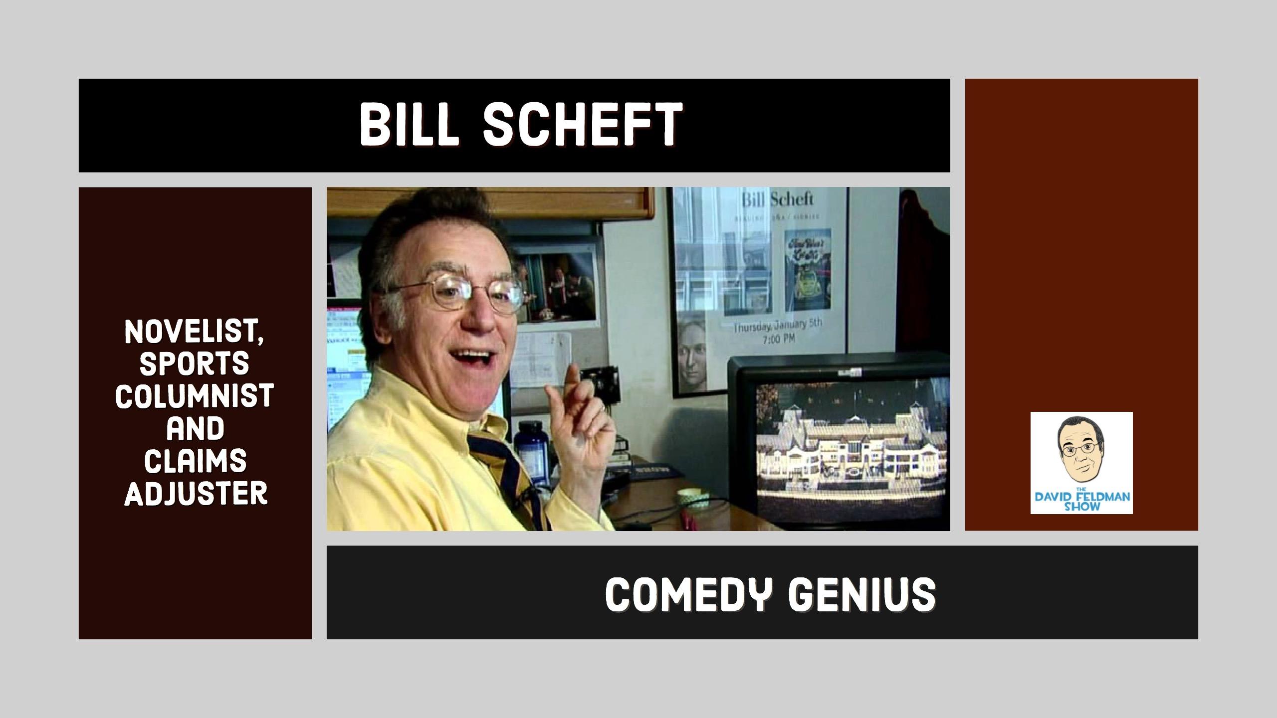 Bill Scheft comedy writer
