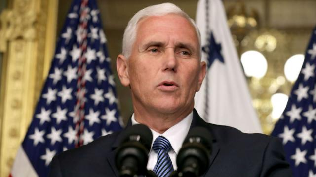 Mike Pence hands victory to wall street fraud
