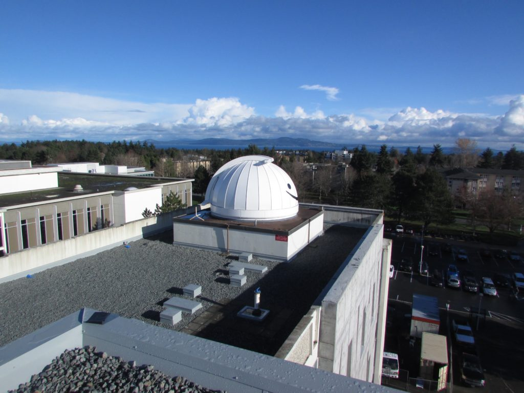 Climenhaga observatory at U Vic