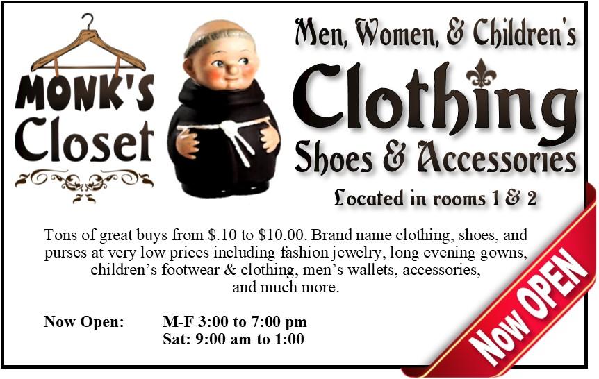 Monks Closet 091717