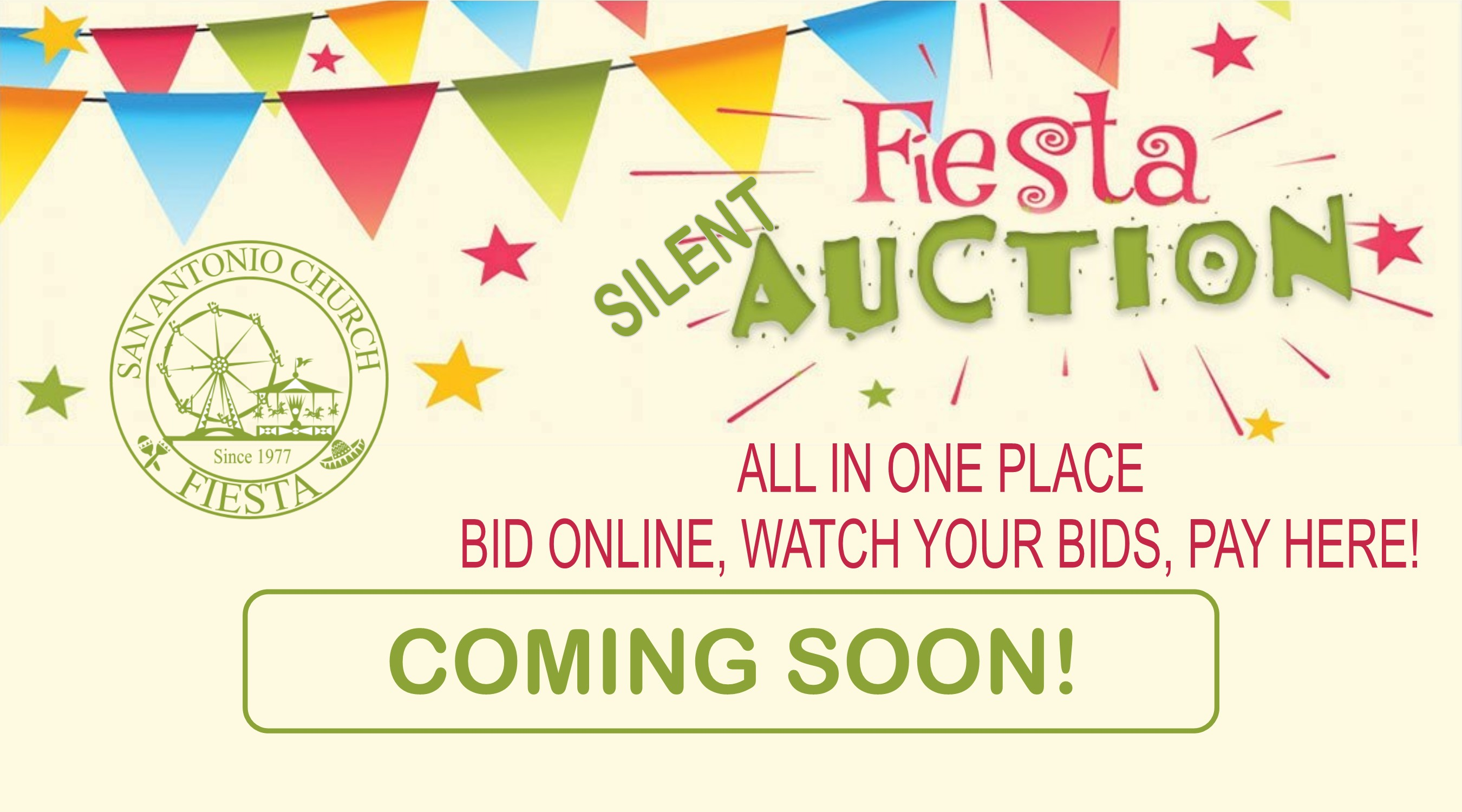 Silent Auction Coming Soon