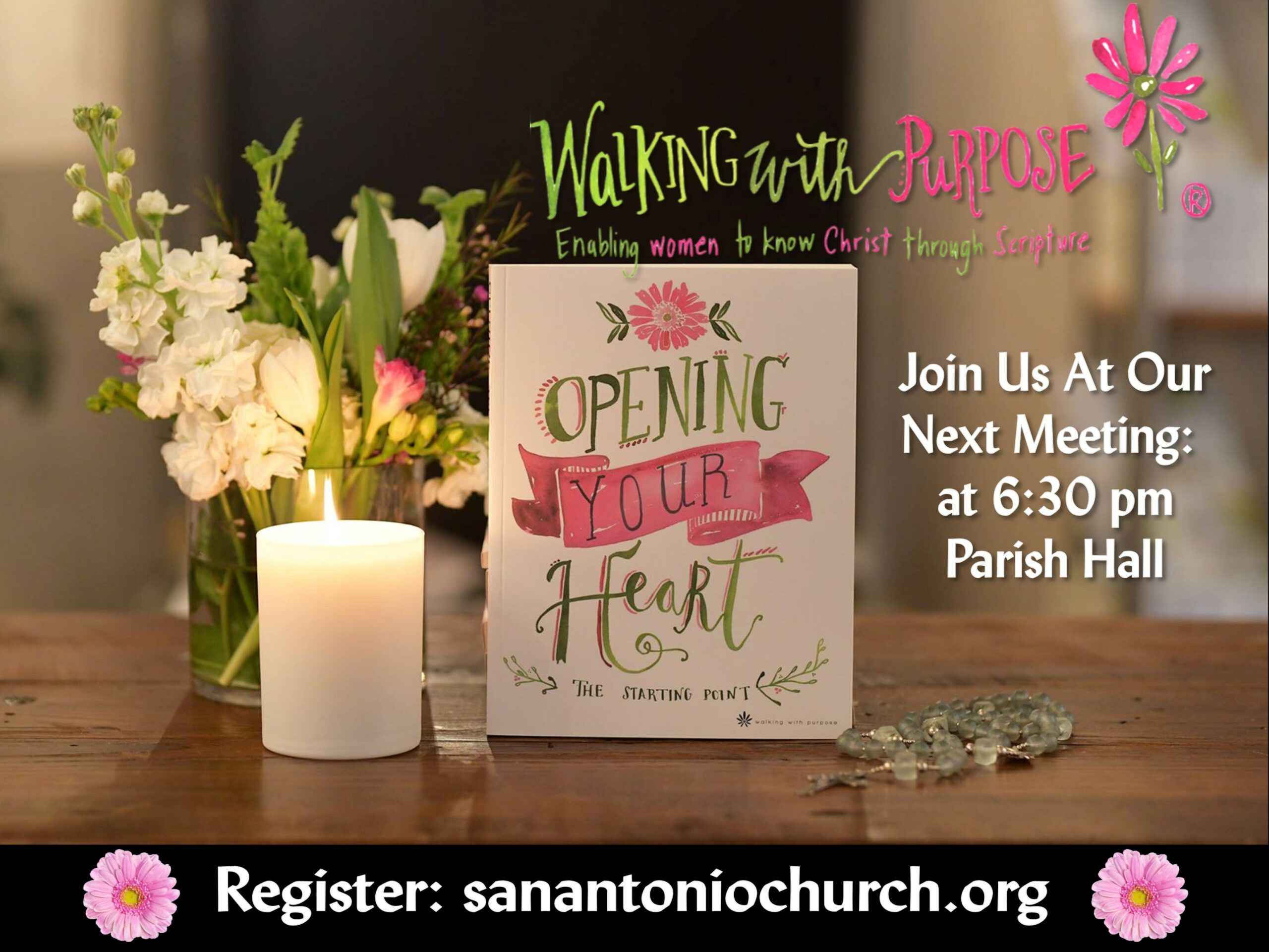 Walking With Purpose Join Us