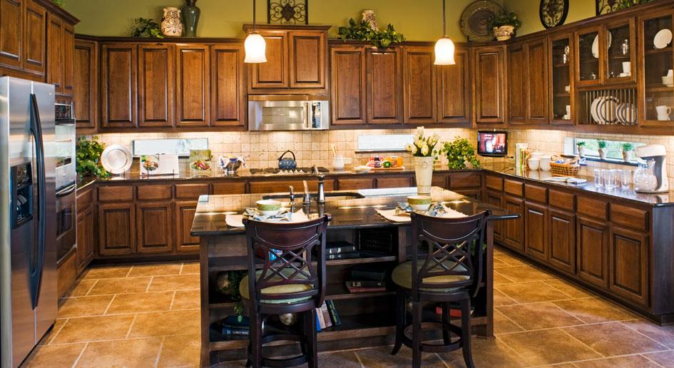 Burrows Cabinets kitchen cabinet 11 in Alder