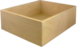 Burrows Cabinets' 9-ply Baltic birch drawer box