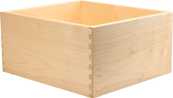 Solid Maple Dovetail Drawer Box