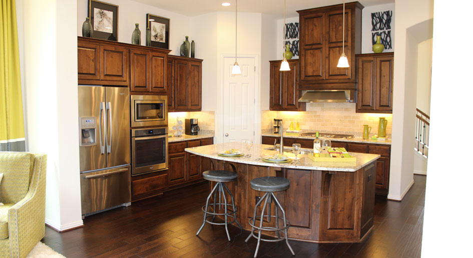 Burrows Cabinets Kitchen cabinet 8 in knotty alder