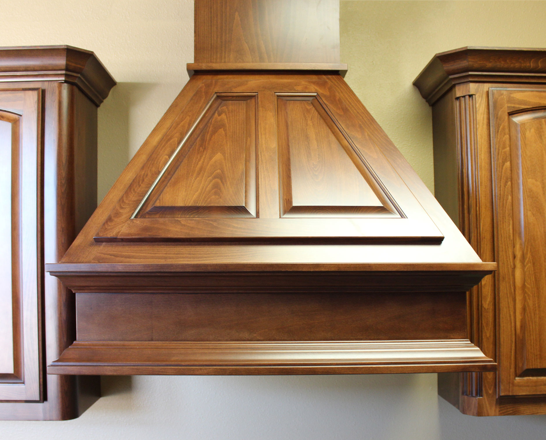 Burrows Cabinets Wood Vent Hood Classic