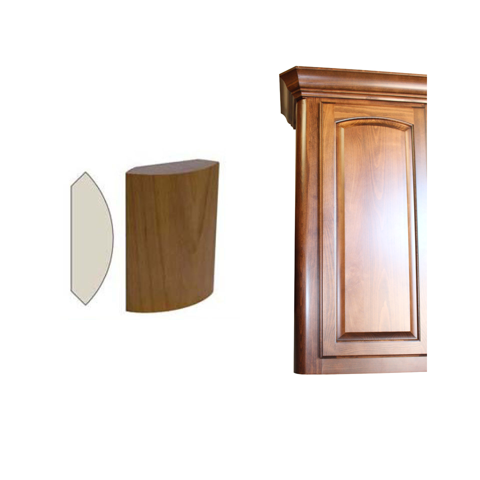 Integrated corner 110