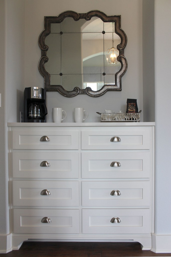 Burrows Cabinets built in dresser