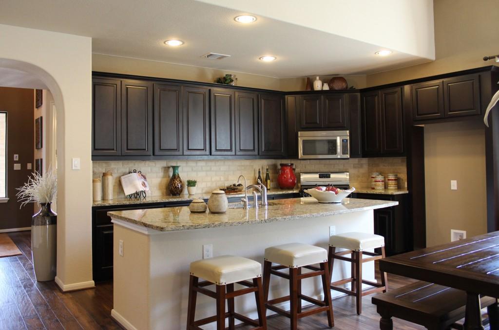 Dark Brown Kitchen Cabinets By Burrows In Espresso