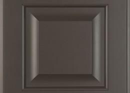 Burrows Cabinets' 5-piece raised panel door in Umber