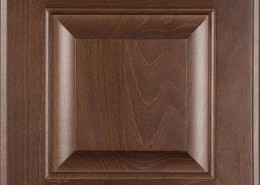 Burrows Cabinets' beech raised panel door in Barbado