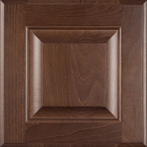Burrows Cabinets' beech raised panel door in Barbado