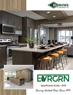 Burrows Cabinets EVRGRN Specification Guide Cover