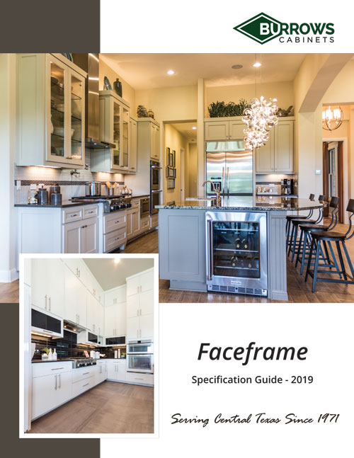 Burrows Cabinets faceframe spec book
