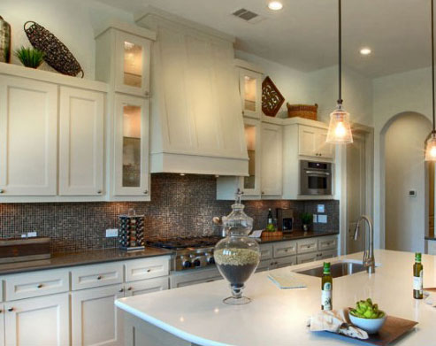 Burrows Cabinets' Shaker Vent Hood