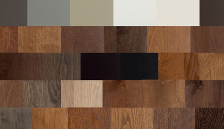 Signature cabinet colors
