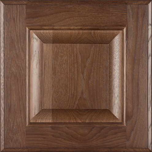 Burrows Cabinets' hickory raised panel door in Barbado