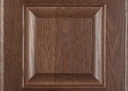 Burrows Cabinets' red oak raised panel door in Barbado