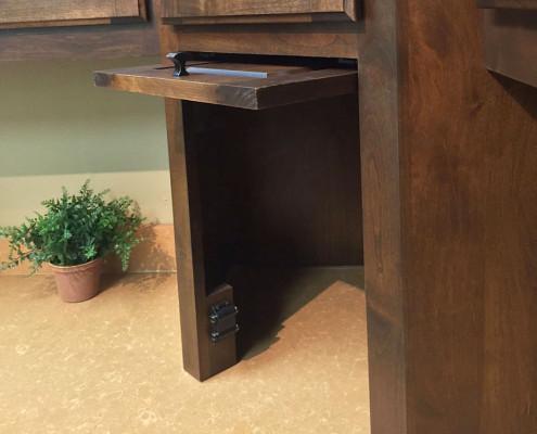 Burrows Cabinets corner appliance garage