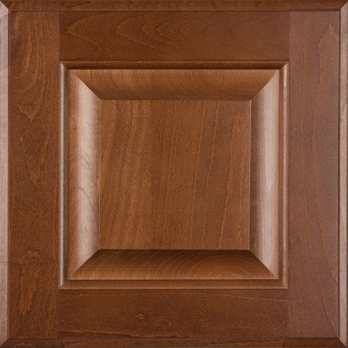 Burrows Cabinets' beech raised panel door in Ambrose