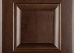 Burrows Cabinets' beech raised panel door in Kona