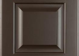 Burrows Cabinets' 5-piece raised panel door in Bistre