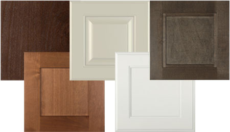 Burrows Cabinets door style options