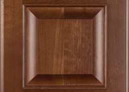 Burrows Cabinets' Clear Alder raised panel door in Ambrose