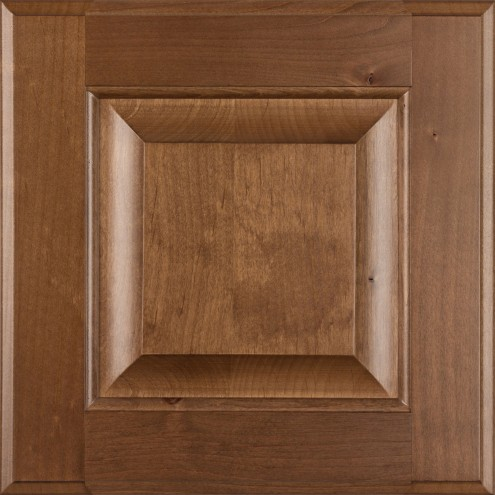 Burrows Cabinets' Clear Alder raised panel door in Bali